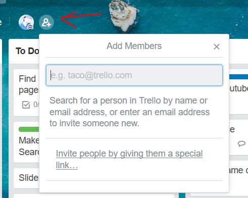 add new member to trello board